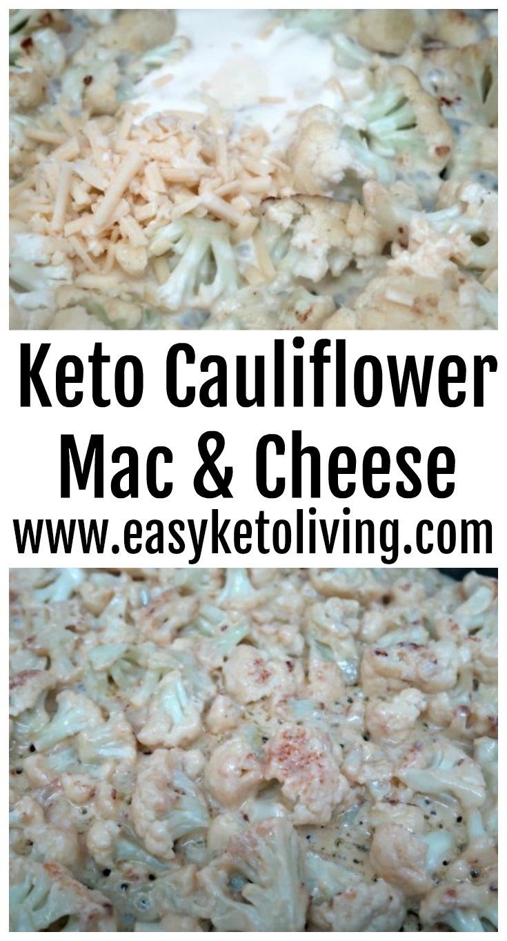Ketogenic Cauliflower Mac And Cheese   All About Ketogenic Diet