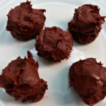 Chocolate Mint Truffles Recipe - Easy Low Carb & Keto Diet Friendly Sugar Free Chocolate Truffle Recipes - the chocolate treat of your dreams - perfect for Christmas or Valentines Day.