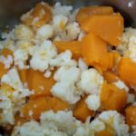 Low Carb Pumpkin Mash Recipe - Keto Mashed Cauliflower Potatoes Recipes alternatives that's great for fall or as Thanksgiving sides and is gluten free, made with healthy butternut squash and butter.