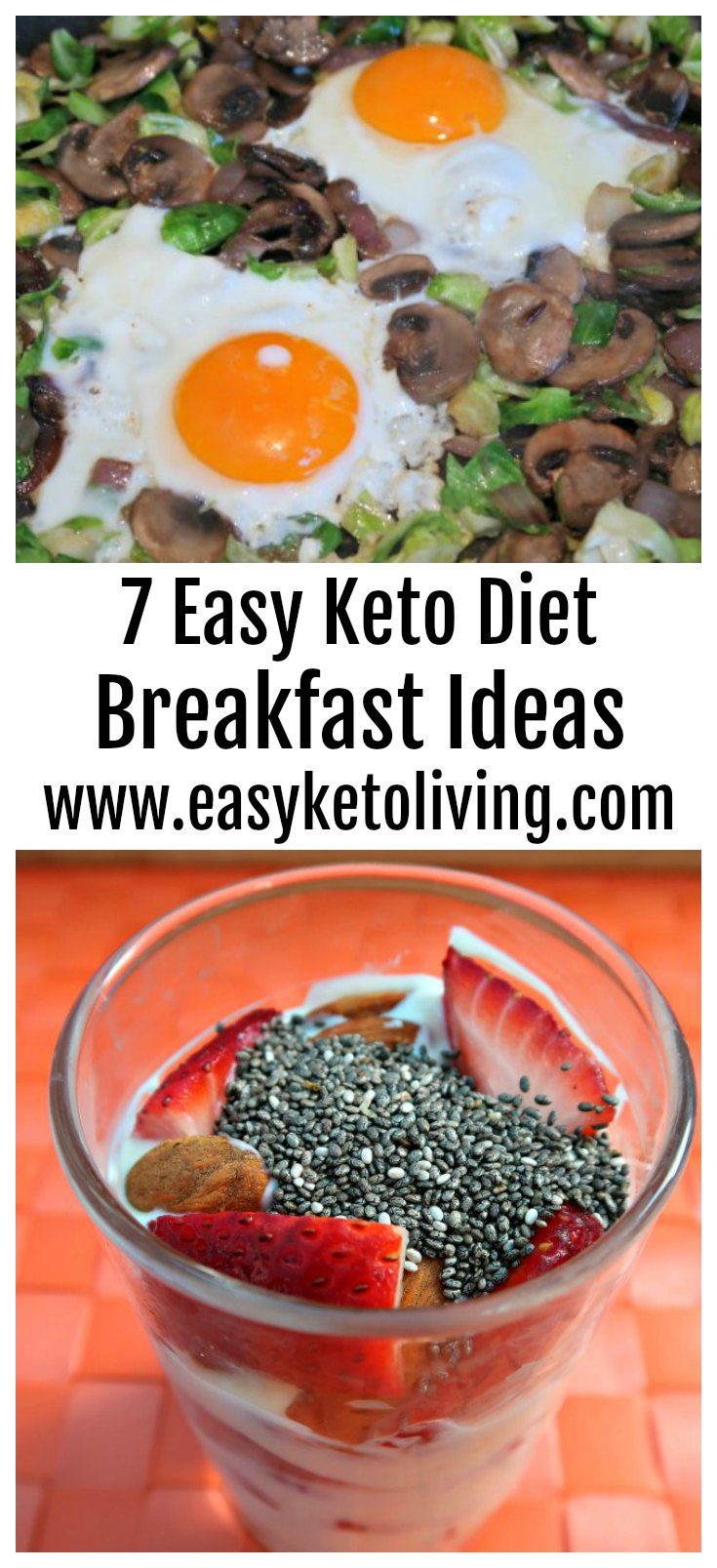7 Keto Breakfast Ideas - Easy Low Carb and Ketogenic Breakfast Recipes