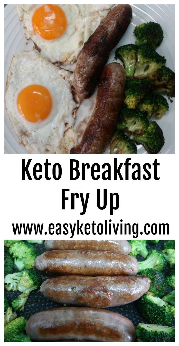Keto Breakfast Fry Up