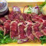 Platter of Japanese Rare Beef