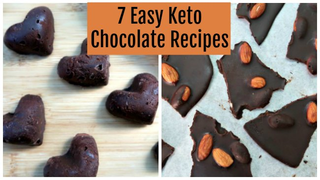 7 Easy Keto Chocolate Recipes