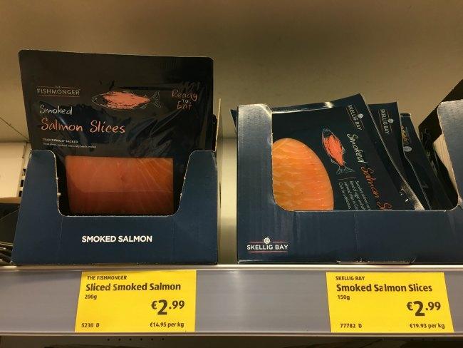 Smoked salmon at aldi - Easy Keto Living