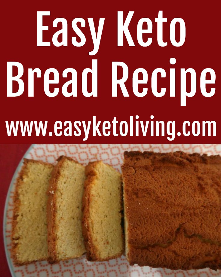 Easy Keto Bread Recipe - How to make the best quick low carb coconut flour bread - with the video tutorial.