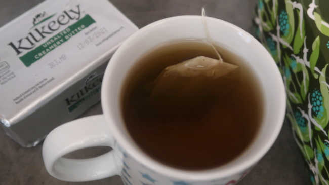 Keto Tea With Butter and Heavy Cream
