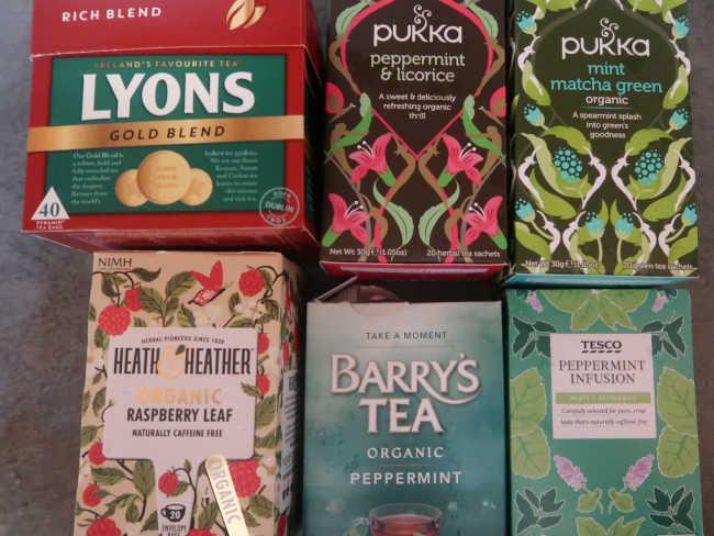 Tea options